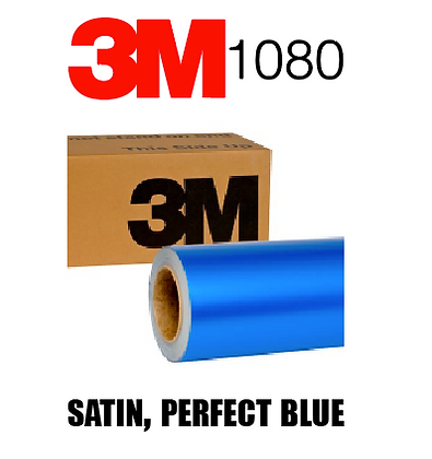 Satin Perfect Blue