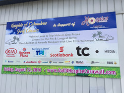Full Colour 4' x 8' Coroplast Sign