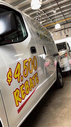 Commercial Van Graphics