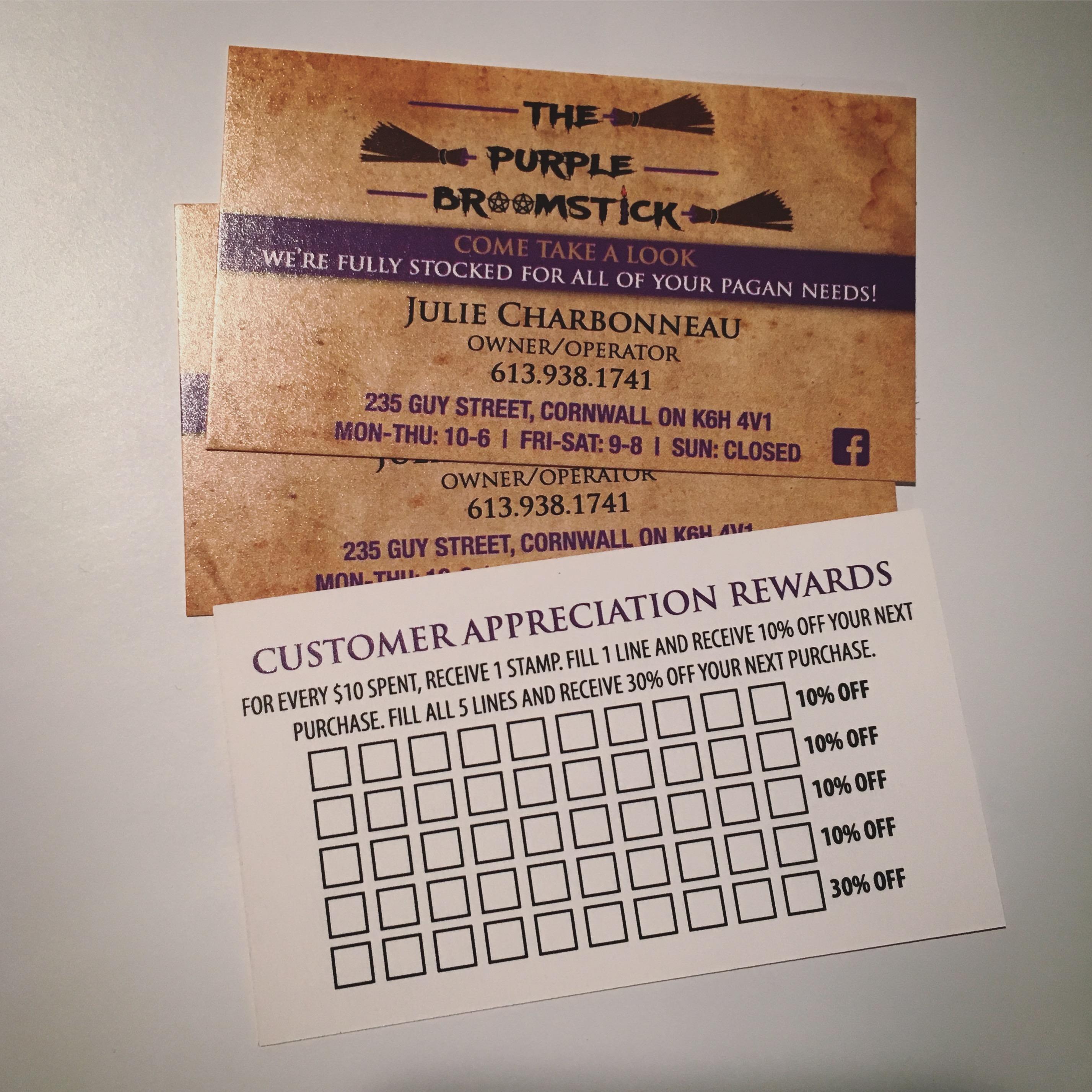 14pt Business Card