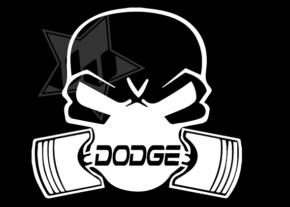 DODGE PISTON MASK