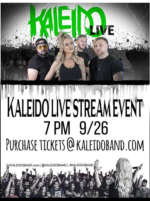 KALEIDO Live Stream Concert