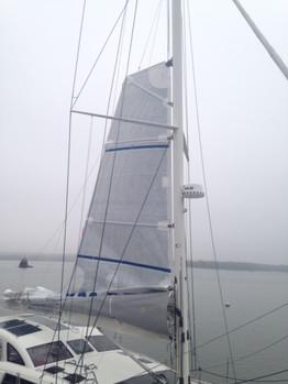 Kiwi Hoists New Mainsail