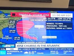 First Irma now Jose