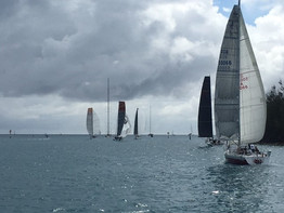 Start of 2nd leg of Bermuda One-Two