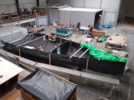 Kiwi Spirit II being built