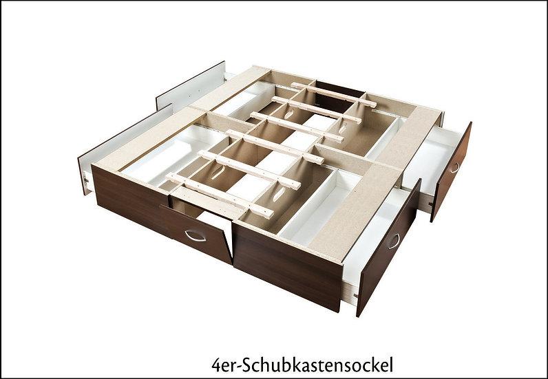 Schubladensockel für Wasserbett