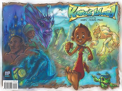 Kana's Island the graphic novel