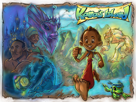 Kana's Island: A curious boys adventures on a strange island