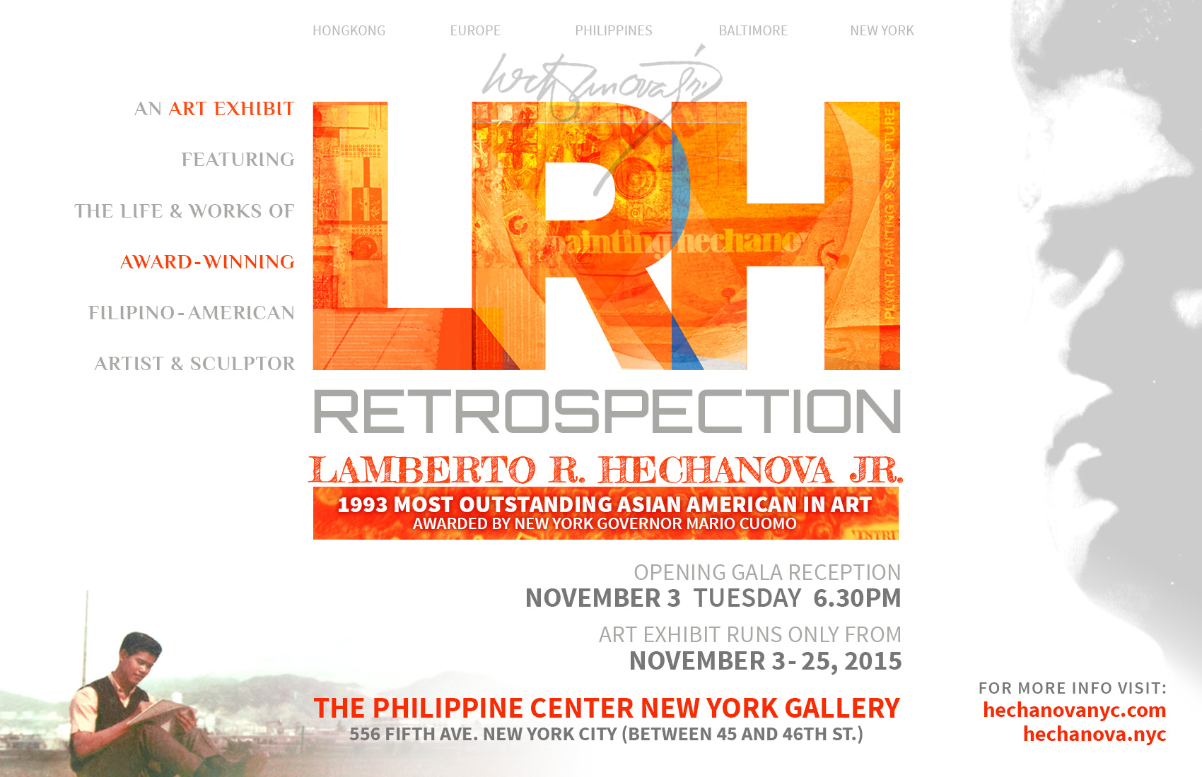 LRH RETROSPECTION ART EXHIBIT