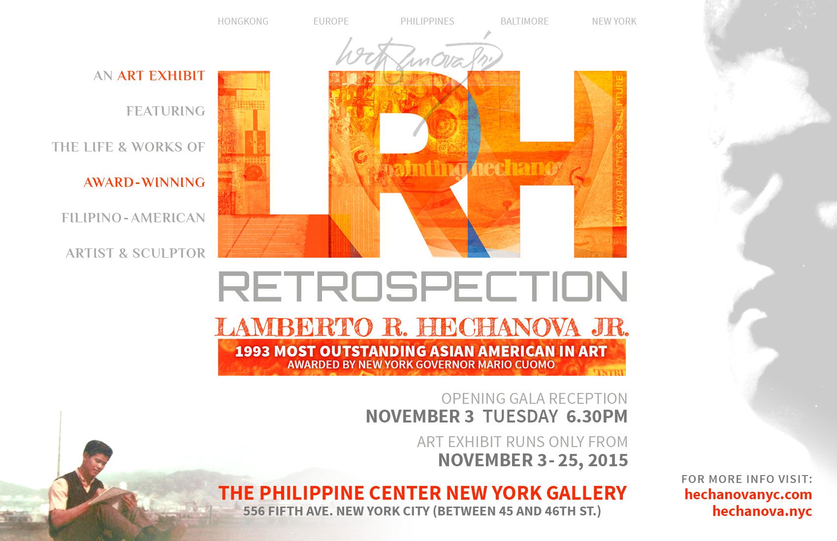 LRH RETROSPECTION ART EXHIBIT