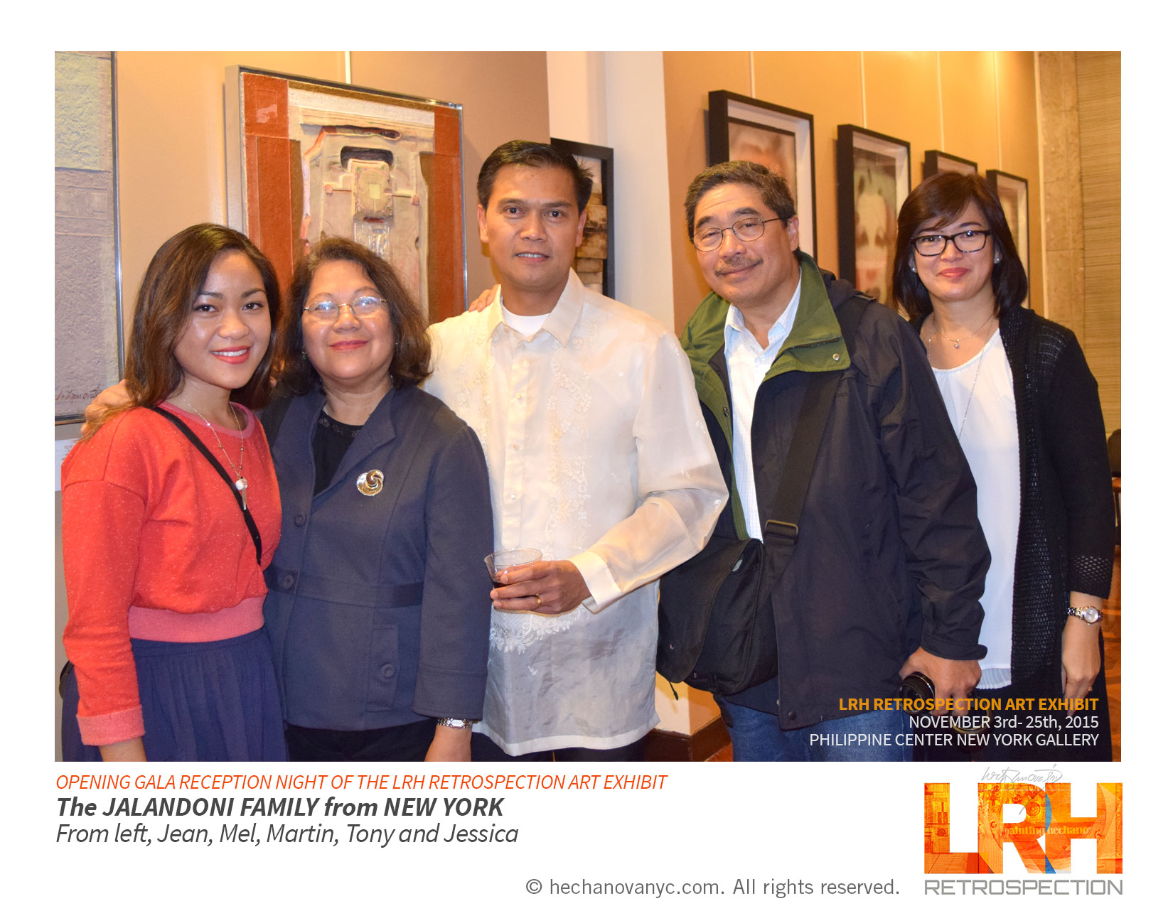 Jalandoni_family on LRH Art Exhibit