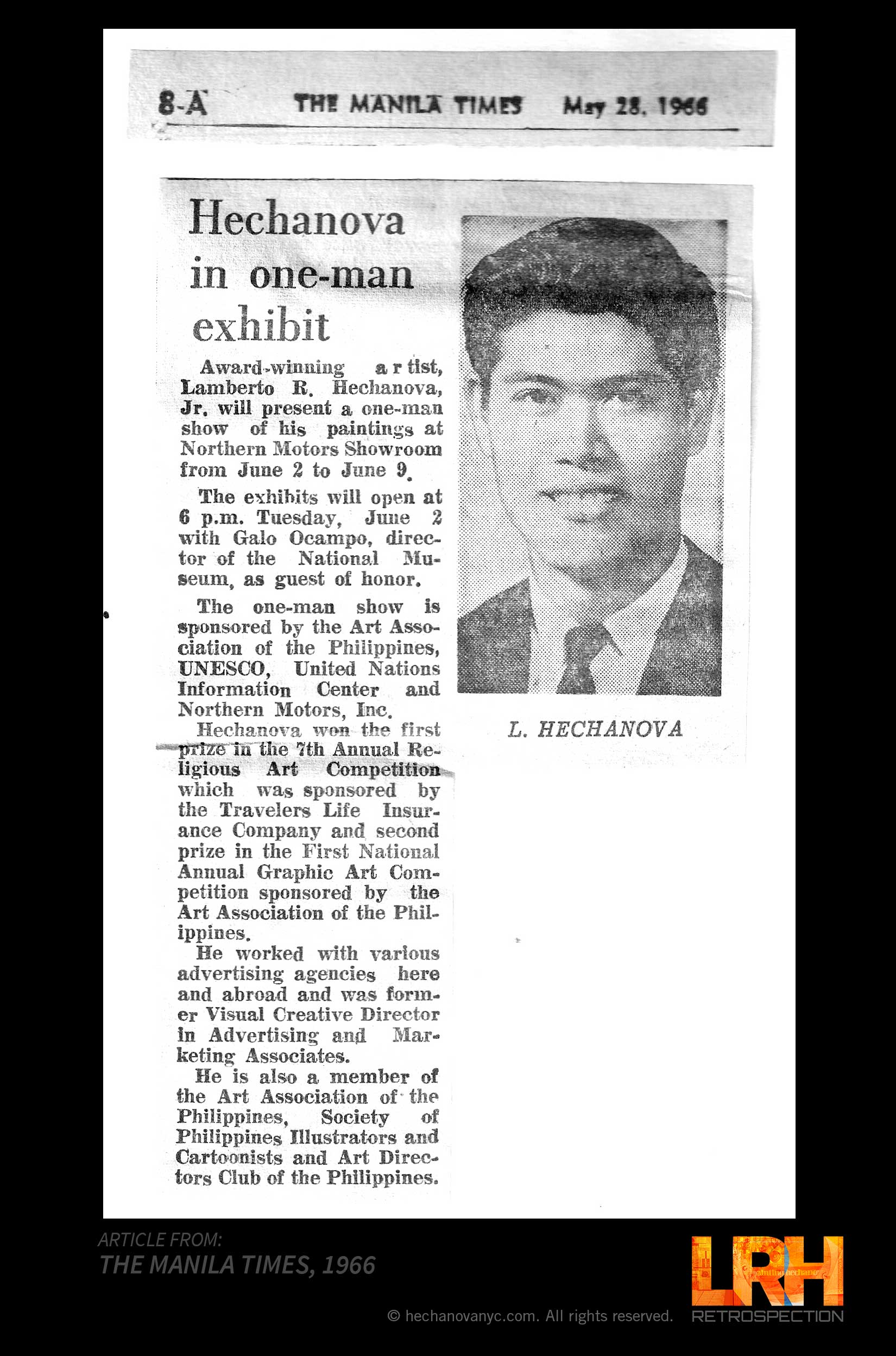 ARTICLE THE MANILA TIMES 1966