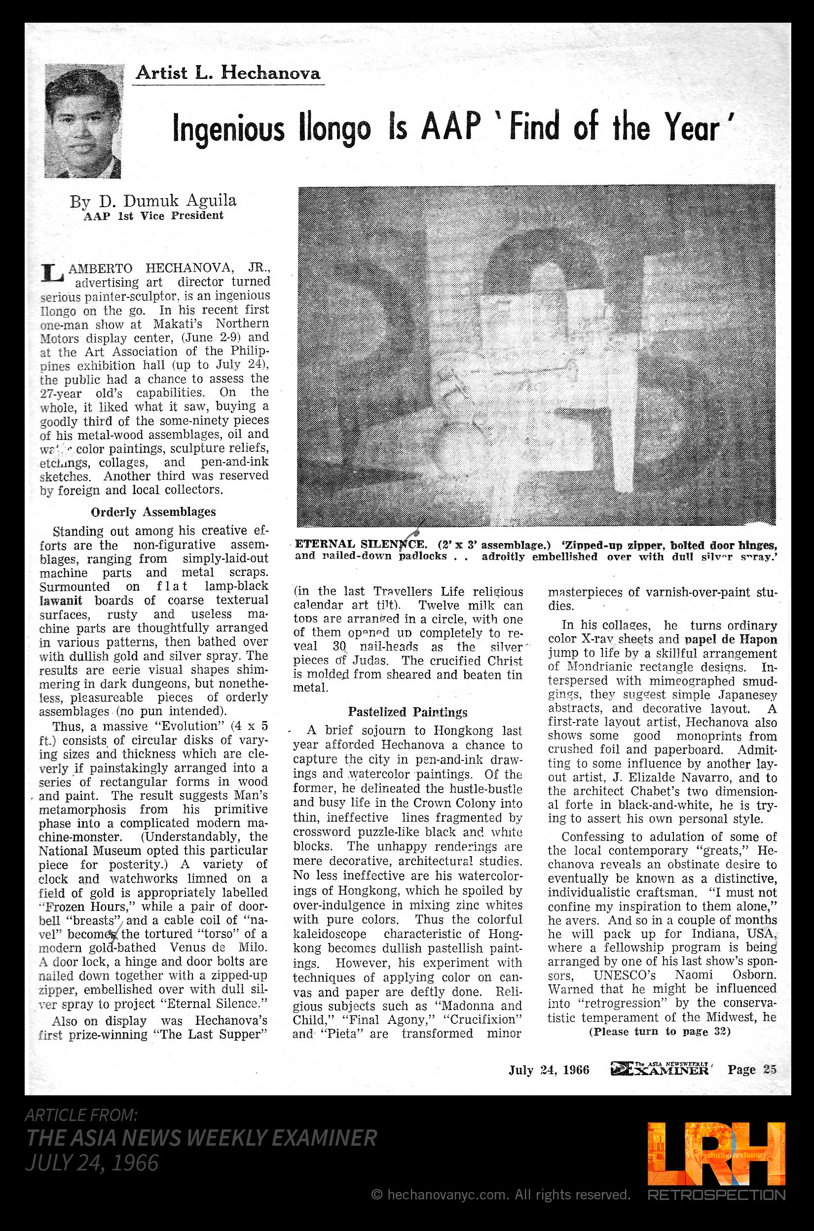 ASIA NEWSWEEKLY EXAMINER 1966_P1