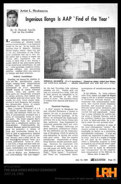 ASIA NEWSWEEKLY EXAMINER 1966_P1