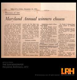 1972 Governor's Award