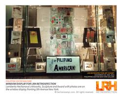 LRH Retrospection Window display