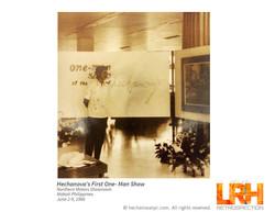 LRH 1st One-Man SHOW