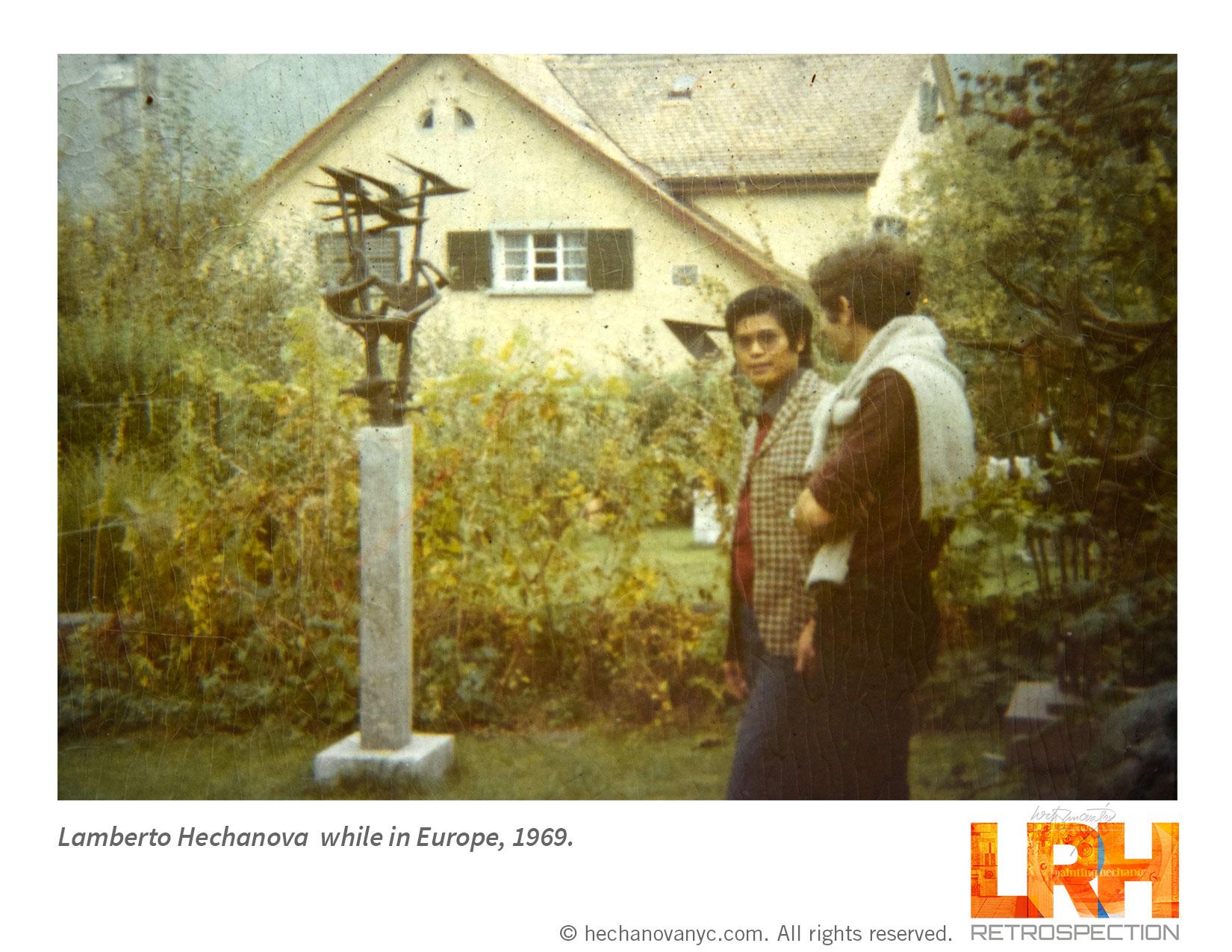 Lamberto Hechanova EUROPE 1969