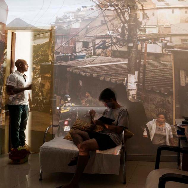 Célio, Rocinha