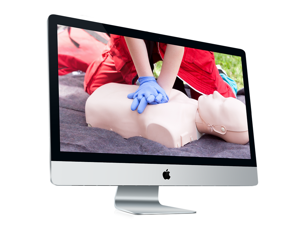 CardioCare CPR Training and Certification illustration of remote CPR skills verificaion