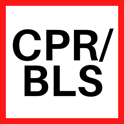 CPR BLS (Blended/Online) *Required for Health Care Professionals