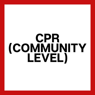 CPR - Community Level