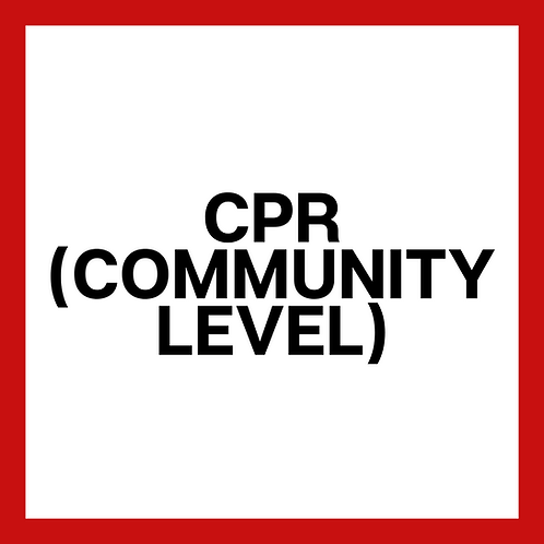 CPR Community *Trainers/Coaches/Students/Boy & Girl Scouts