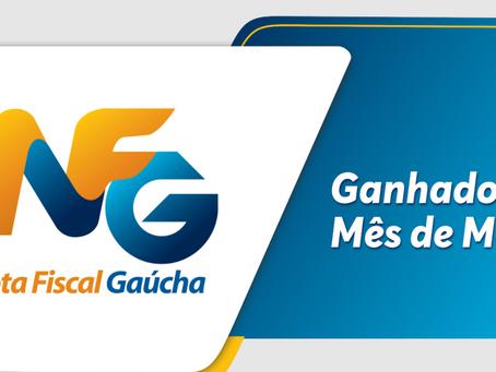 Confira os ganhadores da Nota Fiscal Gaúcha do mês de maio