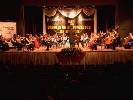 Orquestra de Concertos de Erechim prossegue com o Projeto orquestrando Talentos