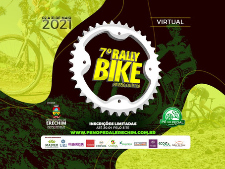 Últimos dias para se inscrever no Rally Bike 2021 – Virtual