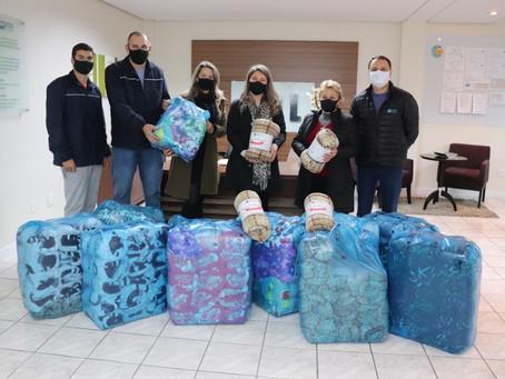 Campanha do Agasalho 2021 chega a 150 cobertores doados via PIX