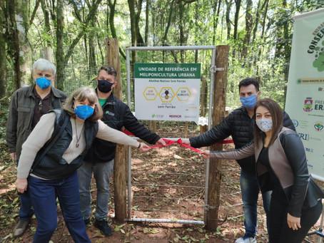 Inauguração de Meliponário integra Semana de Meio Ambiente