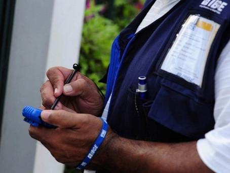 IBGE abre vagas temporárias para o Censo 2021