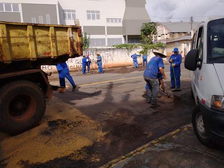 Equipes de obras intensificam trabalhos em áreas atingidas por alagamentos