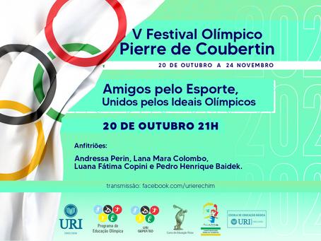 Começam atividades online do Festival Olímpico da URI