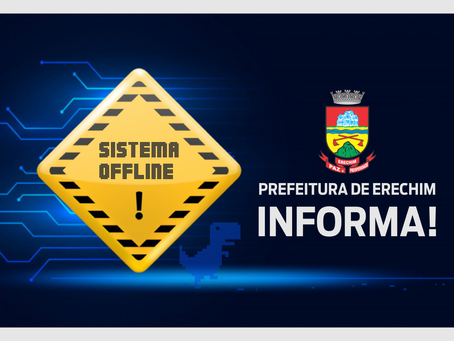 Serviços online estarão indisponíveis no próximo domingo para testes e avaliações