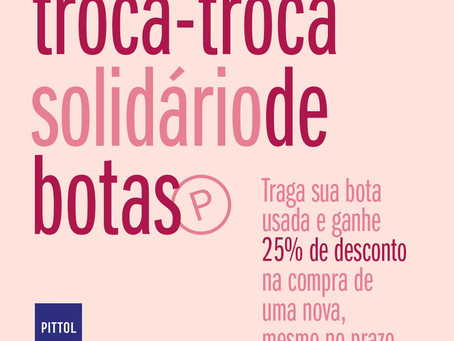 Campanha da Pittol conta com semana de compra solidária