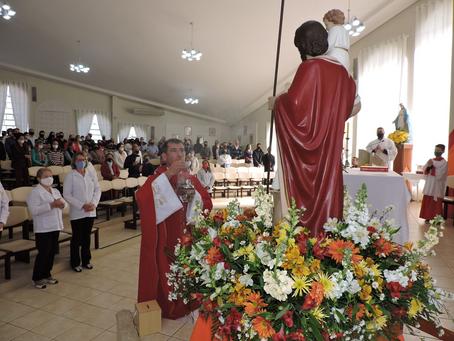Tradicional Festa de São Cristóvão mobilizou fiéis em Erechim