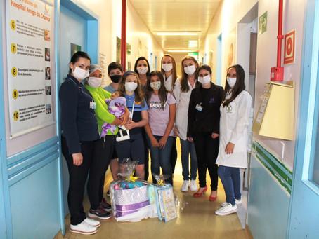 Acadêmicos de Fisioterapia da URI e Rotary Kids desenvolvem projeto sobre a prematuridade