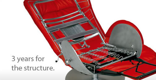 Lafer recliners structure
