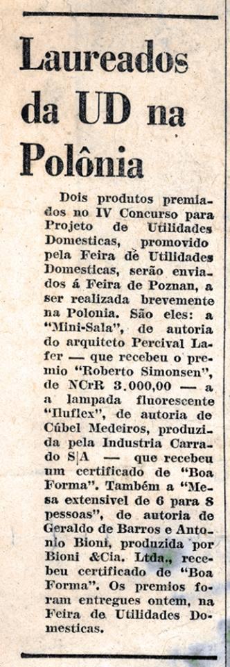 Prêmio Roberto Simonsen - Jornal