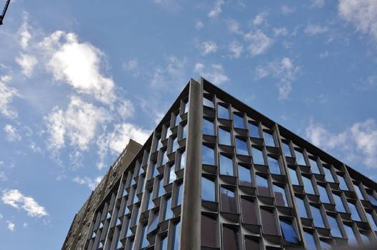 fachada de prédio desenvolvida em fiberglass