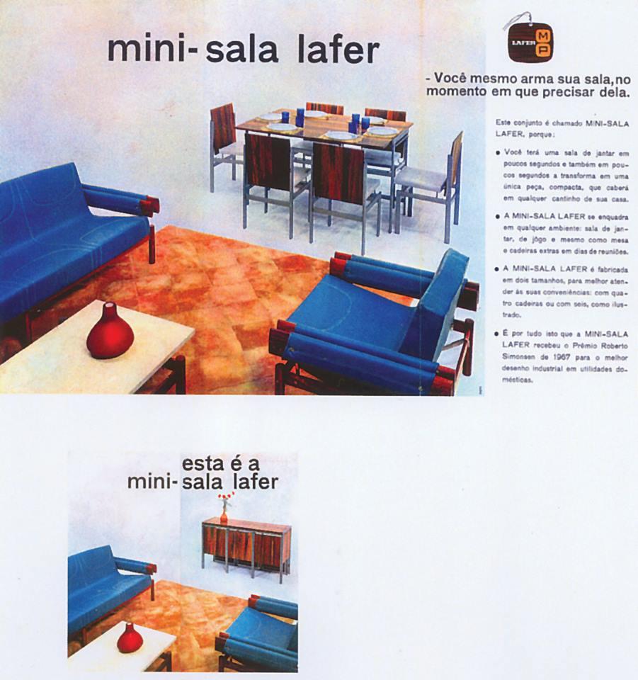 Mini-sala Lafer - folder