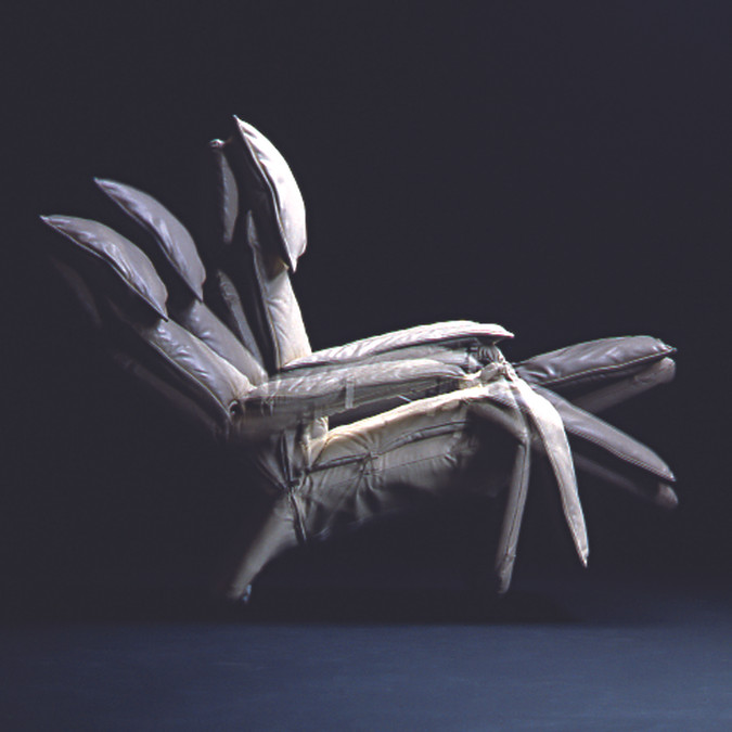 Poltrona reclinável Pony 1980