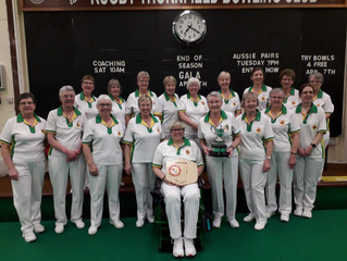 YORK LADIES RETAIN YETTON TROPHY