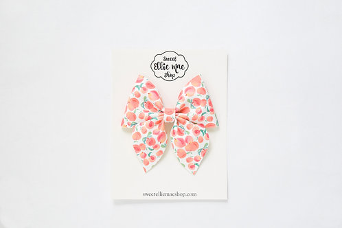 Just Peachy | Large Sailor Bow