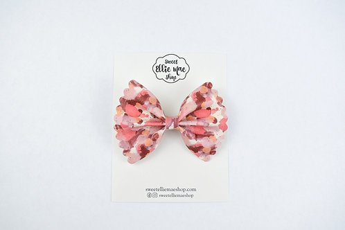 Fall Colors |  Scalloped Ellie Bow