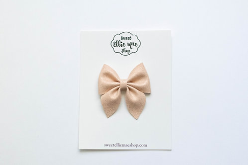 Pink Sand | Midi Sailor Bow