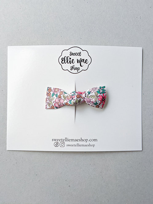 Little Miss Floral | Knotted Bow